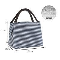 保温饭盒袋子便当包手提包防水女包带饭保温袋大号铝箔加厚饭盒包抖音