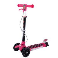 儿童四轮蛙式滑板车双脚踏板摇摆车手刹闪光音乐冲浪滑板车