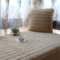 长毛绒飘窗垫窗台垫 田园欧式沙发坐垫厚阳台垫滑地毯地垫定制