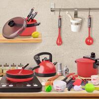儿童过家家玩具厨房大号仿真厨具套装男女孩做饭餐具