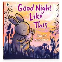 像这样说晚安 英文原版绘本 Good Night Like This 温馨亲子睡前读物晚安故事翻翻书平装大开 幼儿童英语