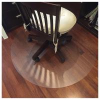 电脑椅地垫圆形转椅垫子塑料垫pvc垫透明木地板保护垫椅子垫脚垫定制