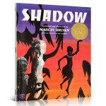 顺丰包邮 Shadow 影子 凯迪克金奖 绘本图画书 Marcia Brown 凯迪克金奖绘本 美国图书馆协会推荐儿童