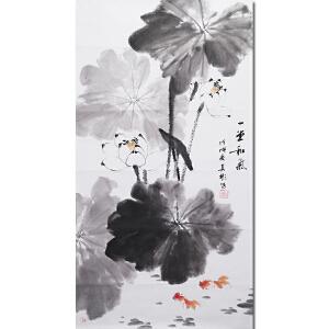 新文人画派 中国花鸟研究会副会长 荆云画院院长 杨其彬先生作品――一堂和气
