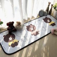 小地垫家居儿童房间可爱地毯卧室床边阳台脚垫进门垫定制