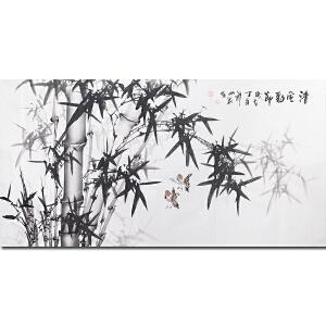 中国书画院理事、中国著名国画画家吕山泉作品――清风劲节