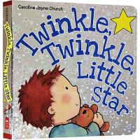 英文原版绘本 Twinkle Twinkle Little Star 欧美幼儿英语经典儿歌童谣 一闪一闪小星星亮晶晶