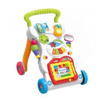 婴儿学步车玩具 7-18个月宝宝手推车助步车多功能音乐玩具zf04 多功能音乐学步手推车