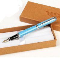 英雄HERO盒装蓝色铱金钢笔/墨水笔-382