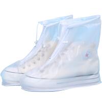捷�N  雨鞋套 防雨防水男女加厚防滑耐磨加厚底成人下雨天鞋套