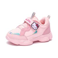【到手价:109元】Hello Kitty凯蒂猫童鞋女童棉鞋二棉鞋2019冬季新款加绒儿童运动鞋冬鞋K9543008