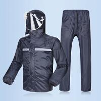 雨衣雨裤套装 分体男女款 单双层加厚全身防水电动摩托车雨披