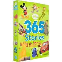 迪士尼儿童365晚安故事精装合辑 英文原版 Disney 365 Stories-Boys 怪物电力公司/101斑点狗/狮子王/唐老鸭/飞机总动员/海底总动员儿童读物