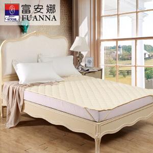 [当当自营]富安娜床垫纯棉保护垫 保暖厚床垫 米色 120*200