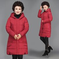 妈妈穿的冬装棉衣中长款40岁50洋气中老年女装羽绒中年人外套