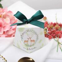 糖果盒欧式创意喜糖盒婚庆喜糖盒子纸盒包装结婚礼物盒