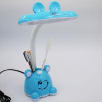 写字专用 台灯 LED可插电 儿童学习学生读书写字工作护眼床头电脑桌专用台灯 按钮开关