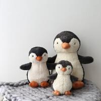 超柔软毛绒企鹅公仔娃娃儿童玩具安抚娃娃企鹅宝宝丑萌少女玩偶 其它大小