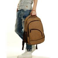 男包休闲双肩包电脑包旅行包韩版潮流帆布包中学生背包书包
