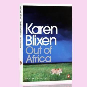 英文原版 Out of Africa走出非洲 凯伦布里克森 Karen Blixen 诺贝尔文学奖 英文版奥斯卡电影原著小说 丹麦文学国宝凯伦布里克森自传体小说