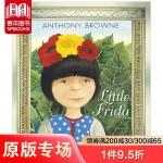 Little Frida 小弗里达・卡罗的故事 英文原版儿童艺术启蒙绘本 6-12岁