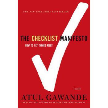 【预订】The Checklist Manifesto  How to Get Things Right 预订商品,需要1-3个月发货,非质量问题不接受退换货。