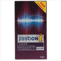 杰士邦安全套有型薄12片装 避孕套 成人用品