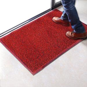 家用PVC丝圈地垫 60*90CM 尘防滑喷丝入户门垫脚垫