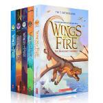 【5册盒装】英文原版小说 Wings of Fire 1-5 The Dragonet Prophecy 火翼飞龙5册