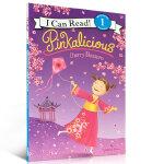 顺丰包邮 Pinkalicious: Cherry Blossom 粉红女孩樱桃树开花了 I Can Read Lev