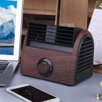 迷你风扇家用桌面台式小 学生宿舍床上静音办公室便携式非USB无叶制冷空调寝
