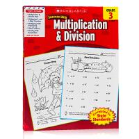 学乐成功系列 3年级乘法应用练习册Scholastic Success with Multiplication&Div