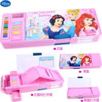 苏菲亚文具盒冰雪公主小学生多功能女密码锁铅笔盒儿童笔袋