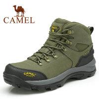 camel骆驼户外登山鞋 高帮 耐磨男款登山徒步鞋