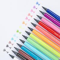 韩国慕那美慕娜美monami 彩色水性纤维笔勾线绘图笔4031