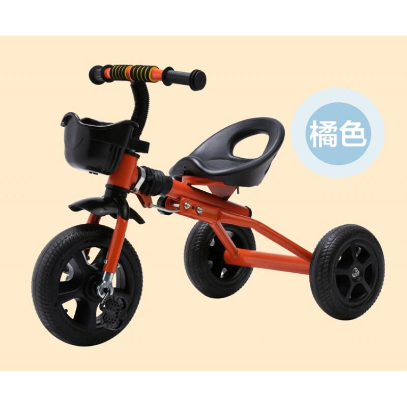 儿童三轮车1-3-4-2-6岁大号小车子宝宝脚踏车折叠轻便小孩脚蹬车YW09童