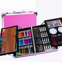 绘画工具套装 儿童绘画画笔套装美术用品礼盒小学生水彩笔文具画画工具生日礼物