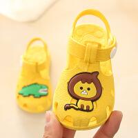 夏季宝宝凉鞋男女婴幼儿学步鞋步前鞋软底