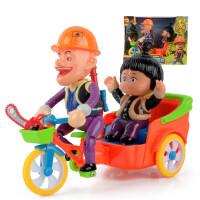 熊出没玩具儿童电动声光抖音同款光头强玩具三轮车自行车套装 官方标配