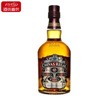 【1919酒类直供】芝华士12年苏格兰威士忌 700ml英国进口正品洋酒