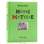 纸上美术馆Henri Matisse Meet the Artist立体翻翻书 野兽派 伟大的艺术家马蒂斯 课外兴趣阅