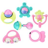 3月婴儿玩具 儿童手摇铃婴儿玩具3-6-12个月新生儿早教0-1岁宝宝 摇铃6件套(A款)