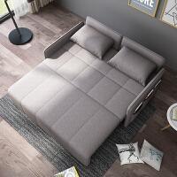 乳胶沙发床双人储物懒人小沙发可拆洗折叠两用15米小户型三人床 1.5米海绵款 颜色请备注 1.8米-2米