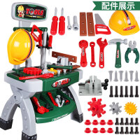 �和�工具箱玩具套�b�^家家�S修修理男����3456�q男孩玩具螺�z