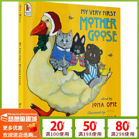 # 【包�]】�Z����童�{英文英�Z�L本3 6�q �M口原版 My Very First Mother Goose 廖彩杏����
