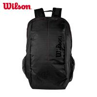 新款Wilson/威尔胜网球包双肩包两只装费德勒签名版球拍包833795网球运动包双肩背