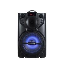 2018新款 音响T6 蓝牙插卡广场舞音响 手提户外大功率电瓶音箱 黑色