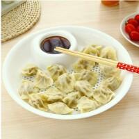 新奇特创意家居用品实用 居家家庭杂货日用小百货韩国厨房小工具 小号饺子盘