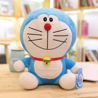 公仔毛绒玩具超大号机器猫叮当猫玩偶蓝胖子生日礼物女生