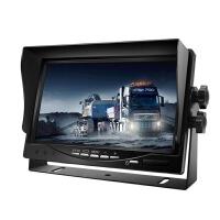 货车U型车载显示器高清车载摄像头货车倒车影像货车监控可视倒车